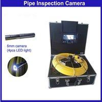 Wholesale 100m Cable Pipe Wall Sewer Inspection Camera Underwater Pipe Camera with mm Camera D5