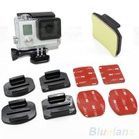 Wholesale 2pcs Flat and Curved for GoPro HD Hero2 Hero3 Camera VGC