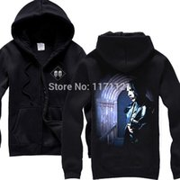 Cheap Free shipping Marilyn Manson Long Hard Road Out Of Hell Rare 100% cotton hoodie