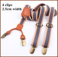 Wholesale 2015 New Unisex Elastic Suspenders Men Fashion Adjustable Braces Belts High quality Vintage Suspenders for Women