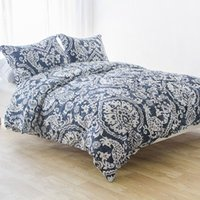 Wholesale Revivalist Foreign solitary double increase cotton satin quilt cover pillowcases are the core three piece soft and delicate