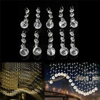 Wholesale New Arrival Clear Acrylic Ball Lamp Prisms Hanging Drops Pendant Decor order lt no track