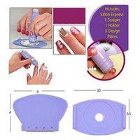 Wholesale Finger print device express salon nail art print device nail art device finger print machine nail art stamping kit M01021
