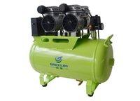 Um por dois Cadeira Odontológica 60L Silent Oil Livre Oilless <b>Air Compressor</b> 1200W Pistão Tipo Equipamento GA-62