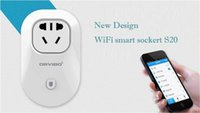 Wholesale Standard Power Socket Wi Fi Smart Switch Socket with Home Automation App By Intelligent Electrical Outlet Smart Socket