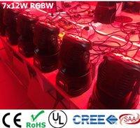 Wholesale CREE x12W RGBW quad mini led wash moving head light LED stage lights Mini LED Moving Head channels