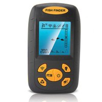 Wholesale 0 M Fish Finder Waterproof Sonar Wireless Control Portable Cable LCD Fish Finder Ultrasonic Alarm M Depth Sensor Sounder Alarm Fish