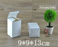 Wholesale White Paper Box for Cosmetic Bottle Gift Craft Packaging Paper Boxes Custom cm