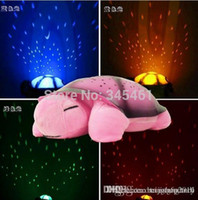 baby projector nightlight - Lamps for Children Gift Turtle LED Night Light Music Lights Mini Projector Colors Songs Star Lamp baby Toy nightlight A5