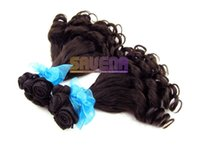 Natural Wave america hair weaves - Europe and America loose weave hair extension hair smooth hair Brazilian hair full real hair wig hair big wave of hair