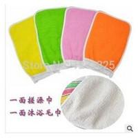 Wholesale Shower Towel Magic Peeling Glove Exfoliating Bath Glove