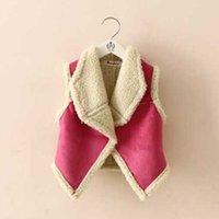 Wholesale 2016 autumn winter fur girl vest fashion Korean children s clothing for girls lambs wool warmer cardigan vest children outerwear