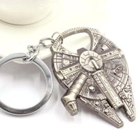 Wholesale Free DHL Fashion Practical Star Wars Millennium Falcon Metal Alloy Bottle Opener movie jewelry gift for firend