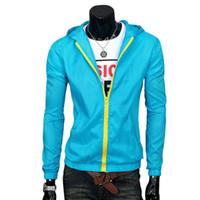 Cheap Fall-Men Raincoat Sunblock Windbreaker Overcoat Waterproof Blazer Coat Jacket