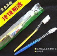 Wholesale Retail Disposable Toothbrush and Toothpaste Suit One time Dentifrice Travel Hostel Guesthouse Hotel Supplies The low end Toothbrushes