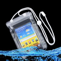band lanyard - Waterproof Dry Bag Pouch Case For Univeral cell phone For iPhone samsung NOTE3 NOTE4 s5 s6 with Arm Band Lanyard