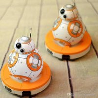 bb bank - 15 CM Star Wars The Force Awakens BB8 Action Figures Toys Piggy Bank For Kids BB With Original Box