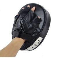 Wholesale Black New Muay Thai MMA Boxing Gloves Focus Training Punch Glove Sanda Martial Thai Karate Hai Kick Boxing Luva De Boxe ZDD