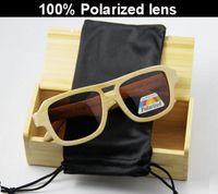 avaitor sunglasses - Cheap avaitor Bamboo sunglasses with polarized lens LUB101
