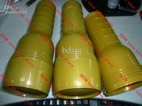 Wholesale 48pcs TIN package Pink inside particle shape in can gold color
