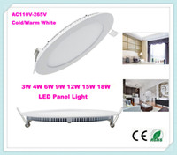 Cheap No LED Panel Lights 9W Best 85-265V 2835 LED Panel Lights 3W