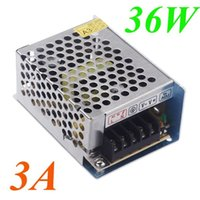 Wholesale 36W A AC V V to DC V Voltage Transformer Switch Power Supply for Led Strip LED display billboard Led control