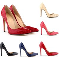 red bottoms heels - Tip classic super high heels red bottom heels shallow mouth singles shoes fine with Fish X0366