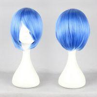 Wholesale CM Neon Genesis Evangelion Ayanami Rei Cosplay Wig