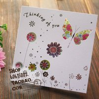 track order - Free ship pc cute delicate hollowing Greeting card birthday card blessing card order lt no tracking