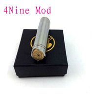 Cheap 4nine mod full mechanical Magneto 4 nine mods clone VS mutant atomo vanilla stingray nemesis Fit Kayfun Ithaka atty Patriot Turbine Omega