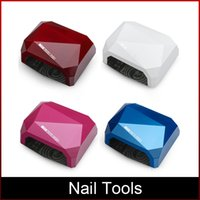 Neueste Nagel Lampe Diamant-Form-LED CCFL-Nagel-Trockner-Nagel-Kunst-Maschine UV-Gel-LED-Lampe-Nagellack-Licht Nagel-Werkzeuge Freeshipping DHL