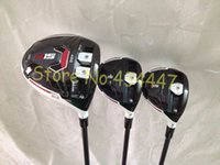 Wholesale golf clubs New R15 driver R15 fairway woods free headcover set golf woods speeder graphite shaft