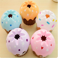 bath ice cream - Tissue Boxes creative cute ice cream cake towel tube with bath toilet paper tissue box car kit Toothbrush Cup high quality P10