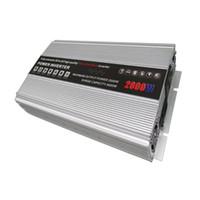 Cheap Best Sale 2000 Watt 12V DC 120V 220V AC Car Lighter Power Inverter for Cars MotorHome