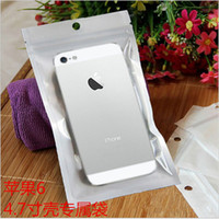 apple oem case - OEM service logo Transparent Universal zip zipper plastic bags retail packages boxes for iphone s s plus cable cases date cable ipad air