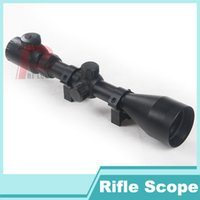 3-9x50 - Deer Hunter Rifle Scope Sight x50 Red Green Dot Sight Illuminated Scope Telescopic Scope Free mm Tactical Mount HT6