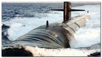 ballistic panel - Ballistic Missile Submarine Military Silk Poster x36 inches