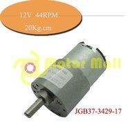 Wholesale 25pcs V DC geared motor rpm KG CM micro Dc gear motor JGB37 intelligent robot motors
