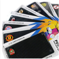 Wholesale Anti Slip Mat Non Slip Car Dashboard Sticky Pad Mat Powerful Silica Gel Magic Car Sticky Pad for Mp3 mp4 cell phone with retail package