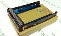 Wholesale 651314 quot Gen8 SAS SATA HDD Tray Caddy Sled ML350e ML310e SL250s G8 for HP