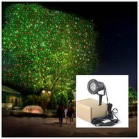 Wholesale 2016 Outdoor IP65 waterproof Laser stage light elf light christmas lights outdoor laser lighting projector red green firefly light projector