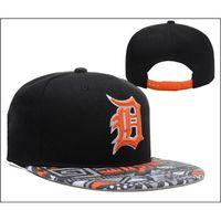 Wholesale Detroit Tigers Snapback Baseball Caps Many Colors Caps Fashional Caps Sun Snapbacks Hats Men and Women Snapbacks Outdoor Sports Hats