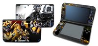 Wholesale FreeShipping HOT Cheap New Transformers Cover Decal Screen Film Front Back Protector Skin Sticker For Nintendo DS XL LL Games