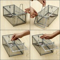 animal cage traps - High Sensitivity Mouse Rat Mice Live Trap Cage Control Rodent Animal Catch Baits