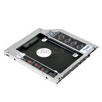 apple hard disk external - 2nd HDD Caddy Tray SATA to SATA SSD Case quot mm mm Hard Disk Driver External Enclosure for Apple SHC03SQ WY