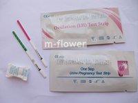 tests ovulation - 10 mIU ml sensitivity higher than mIU ml Ovulation LH Test Strip Pregnancy Test Strip One Step Test FDA CE