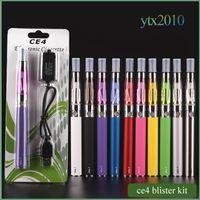 achat en gros de e de-Ego kit de démarrage CE4 atomiseur cigarette électronique e kit cig 650mAh 900mAh 1100mAh EGO-T cas batterie blister Clearomizer E-cigarette Dhl