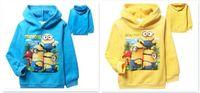 baby bogs - 100pcs best quality Autumn winter Despicable Me minion clothes bog girl child hoodies Baby fleece hoodies Coats D356