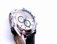 Reloj impermeable de HD 1080P Cámara cámara de infrarrojos de visión nocturna 12MP 16GB W7000 Cámara escondida Video Disk Mini DV leva PC USB