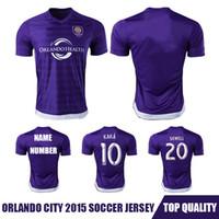 Shorts - Whosales Camisa Orlando City Soccer Jerseys Orlando City Jersey Orlando City CF Kaka Football Shirt A Quality